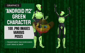 Android M2 Green