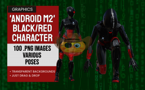 Android M2 Black/Red