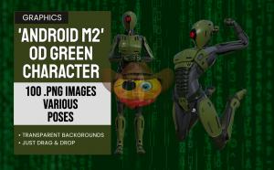 Android M2 OD Green